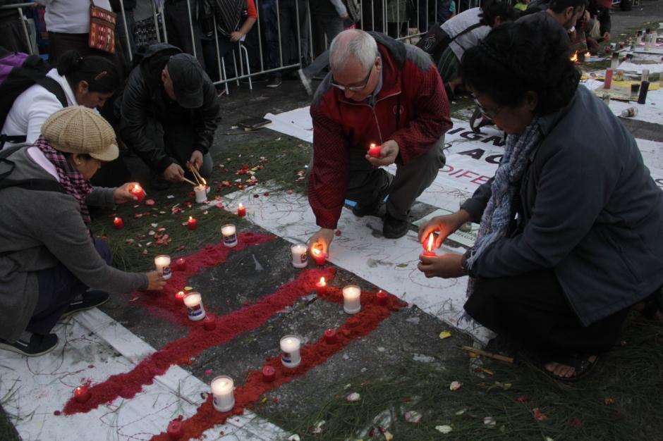 Palau llamó dolidos de corazón a los manifestantes. (Foto: Fredy Hernández/Soy502)