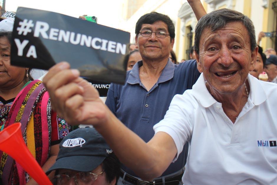 Muchos asistentes a La Plaza sobrepasaban los 50 años. (Foto: Archivo/Soy502)