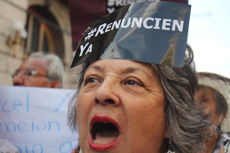La edad no fue suficiente para inhibir a esta ciudadana. (Foto: Archivo/Soy502)