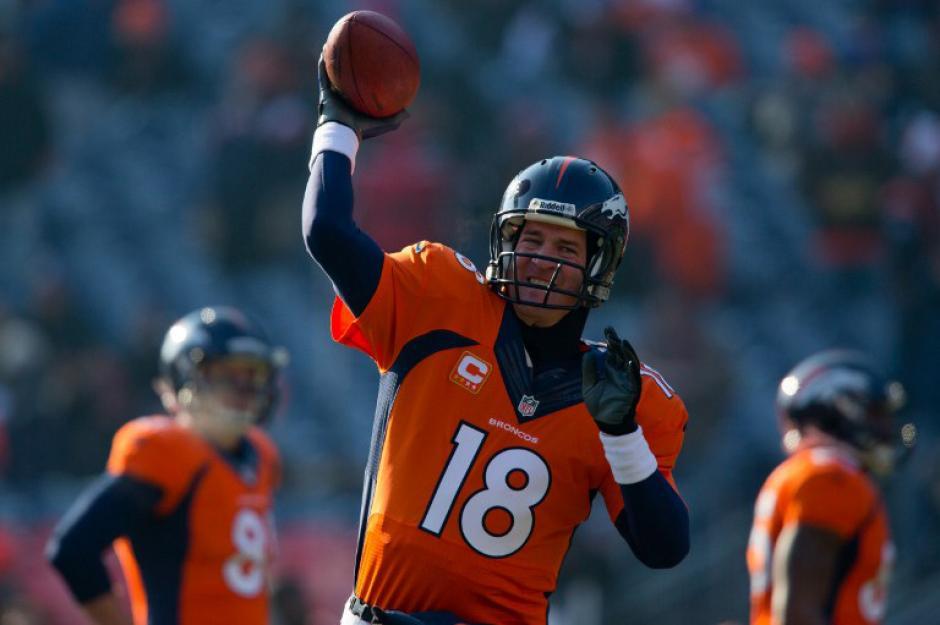 Peyton Manning llevó a los Broncos de Denver a los playoffs de la NFL.