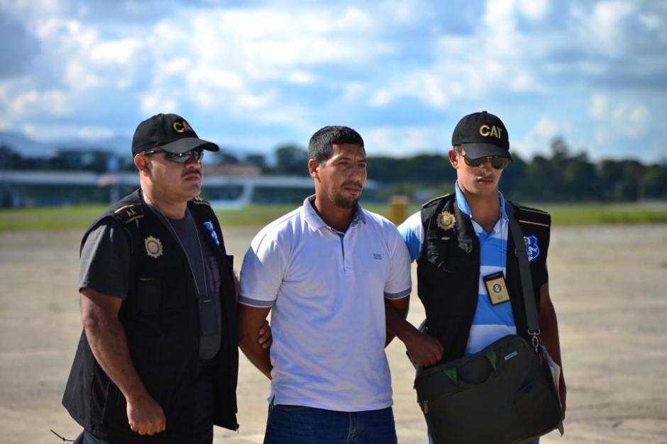 El dispositivo de seguridad logró coordinarse con autoridades de México para la captura de Manolo Montepeque. (Foto: Jesús Alfonso/soy502)