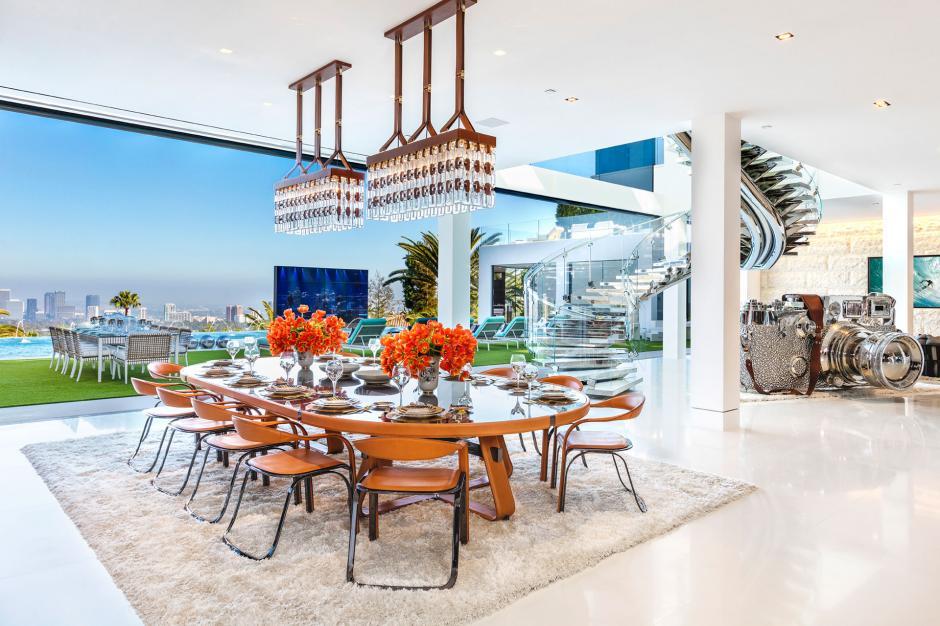 Este uno de los tantos comedores de la propiedad. (Foto: BAM Luxury Development)