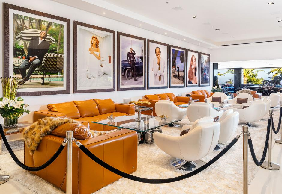 Las obras de arte se encuentran en cada rincón de la casa. (Foto: BAM Luxury Development)