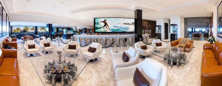 Vista panorámica de una de las salas de estar. (Foto: BAM Luxury Development)