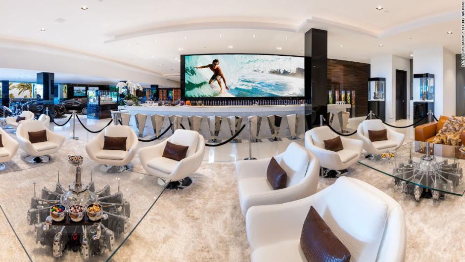 Uno de los bares de vivienda. (Foto: BAM Luxury Development)