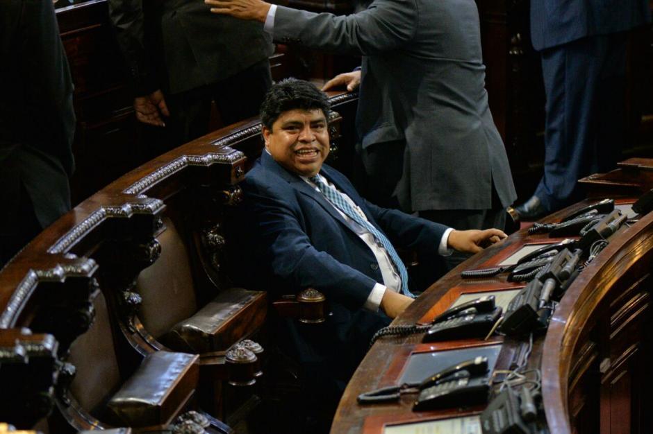 Manuel García Chuta también tiene una solicitud de antejuicio, por plazas fantasma. (Foto: Wilder López/Soy502)