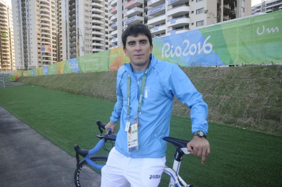 Para Rodas son sus segundos Juegos Olímpicos, tras Londres 2012. (Foto: Pedro Pablo Mijangos/Soy502)