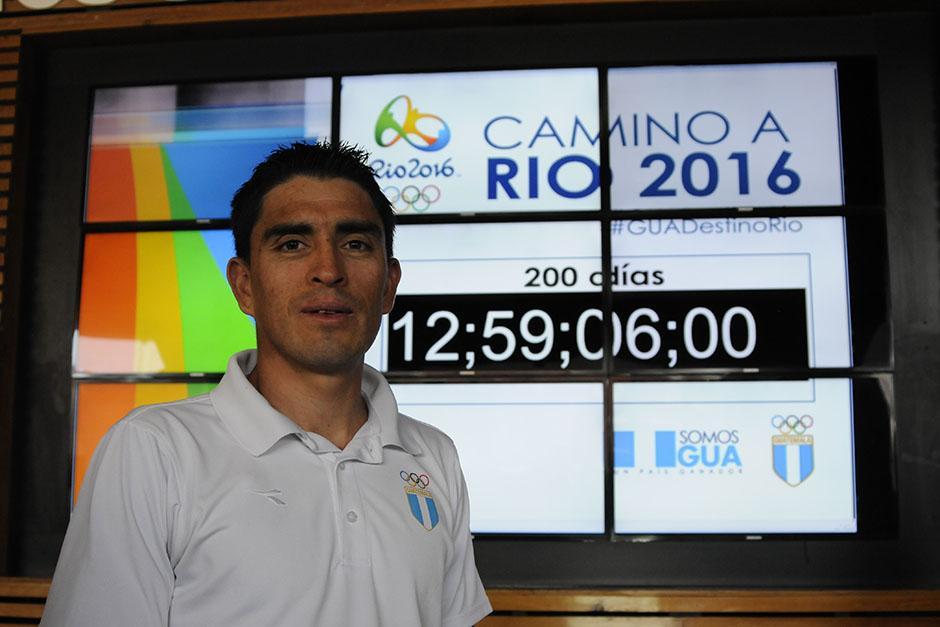 El ciclista quetzalteco, Manuel Rodas, es el último atleta clasificado a los Juegos Olímpicos, su pase se concretó el 31 de diciembre del año pasado. Serán sus segundas justas Olímpicas. (Foto: Soy502)