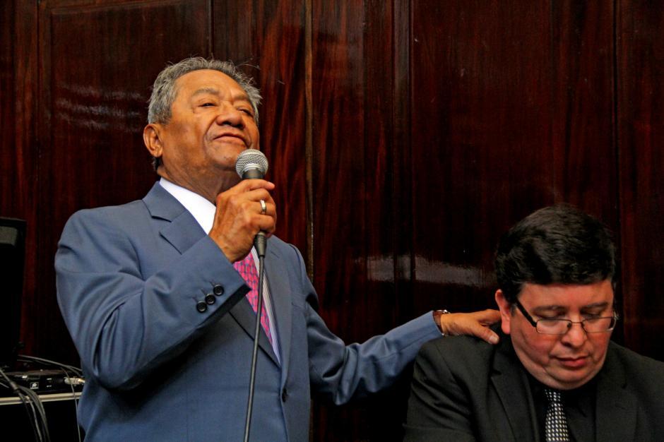 Armando Manzanero deleitó con su talento a los presentes. (Foto: Esteban Biba/Soy502)