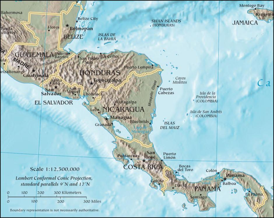Este fósil de dinosaurio es el primero que se encuentra en Centroamérica. (Foto: Wikimedia)