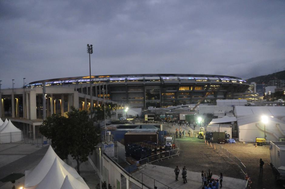 Así de imponente luce el estadio Maracaná en el corazón de Río de Janeiro. (Foto: Pedro Pablo MIjangos/Soy502)