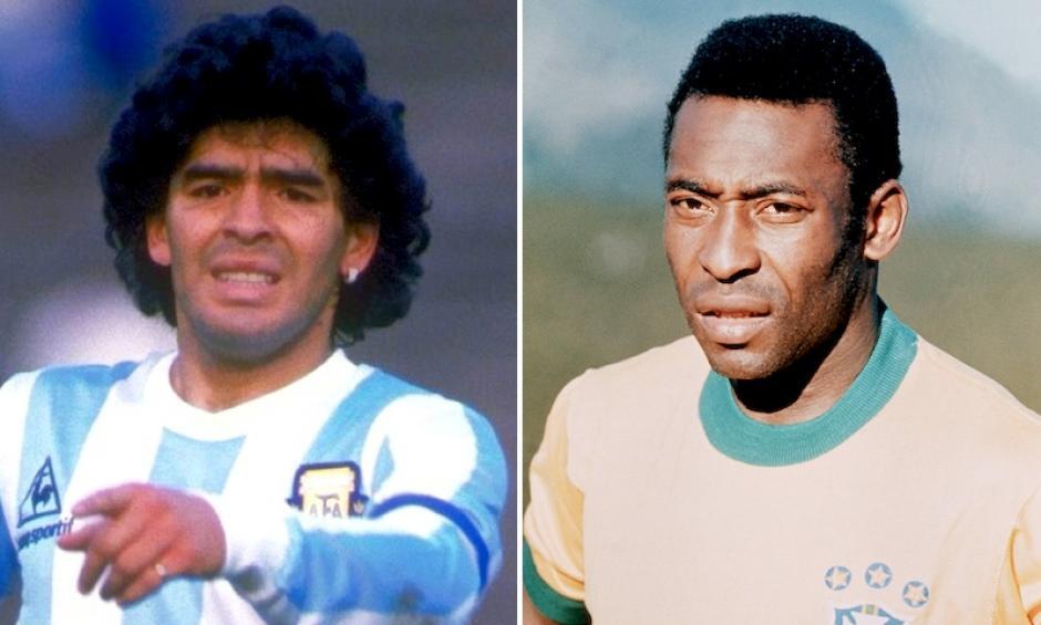 Brasil y Argentina han levantado la Copa América en repetidas ocasiones, pero sus máximas figuras históricas no lograron conseguir el trofeo para sus naciones. (Foto: libertaddigital.com)