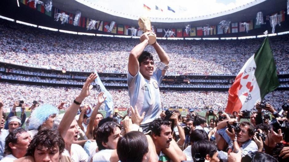 Maradona participó en tres ediciones del torneo continental. (Foto:FIFA)