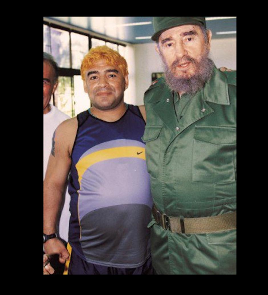 Que le abrió las puertas que Argentina le cerró. (Foto: Maradona retor pics)