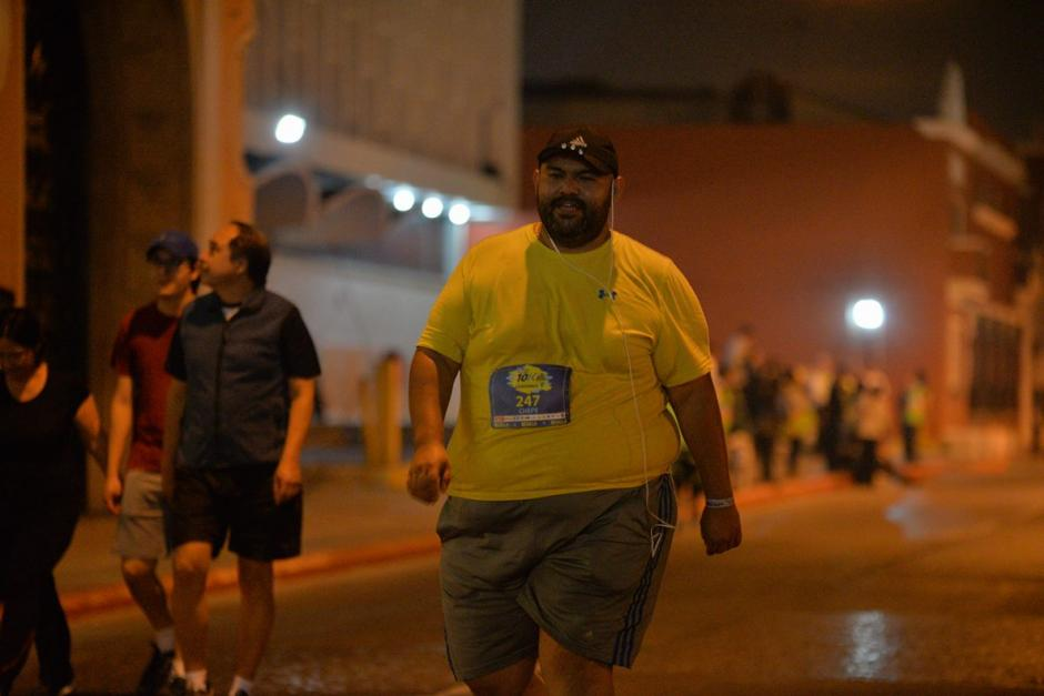 """""""Chepe"""" se puso la meta de competir a su ritmo y lo consiguió. (Foto: Wilder López/Soy502)"""