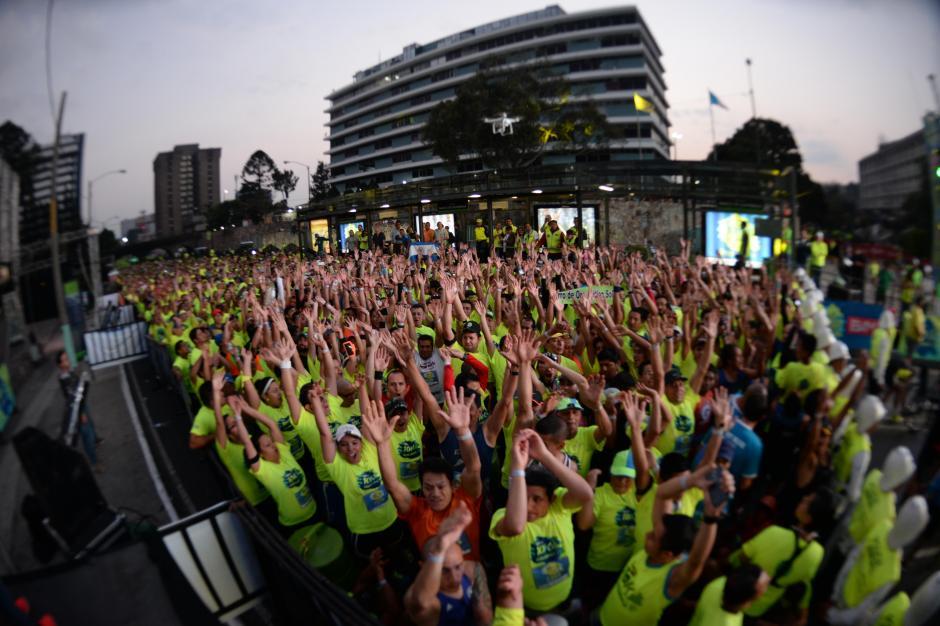 La alegría desbordó a los participantes de la 10k de la ciudad. (Foto: Diego Galiano/Nuestro Diario)