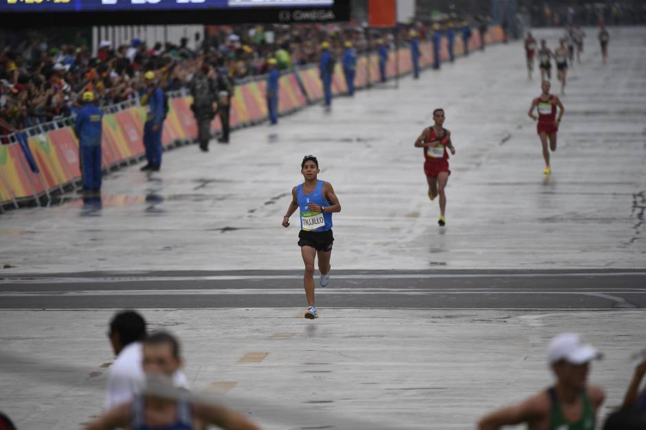 Juan Carlos Trujillo llegó en la posición 68. (Foto: Pedro Pablo Mijangos/Soy502)