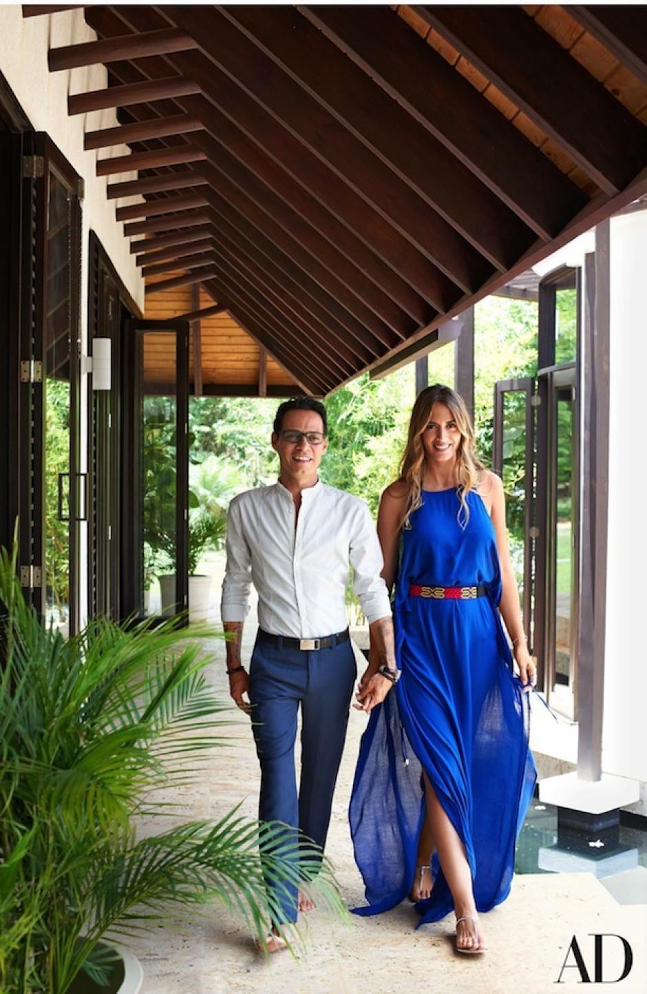 Marc abrió las puertas a la revista Architectural Digest. (Foto:  Architectural Digest)