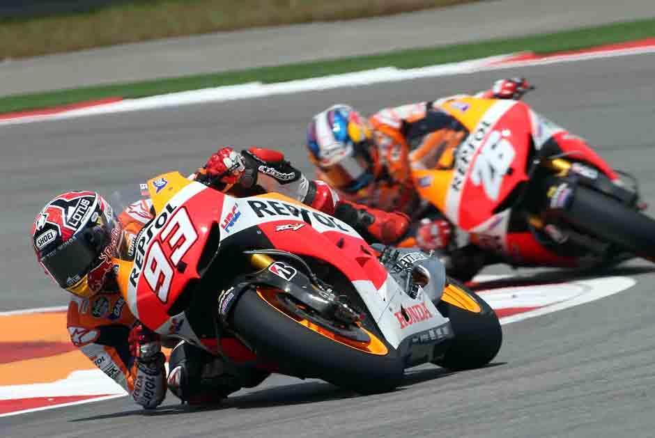 Marc Máquez busca el título en Moto GP