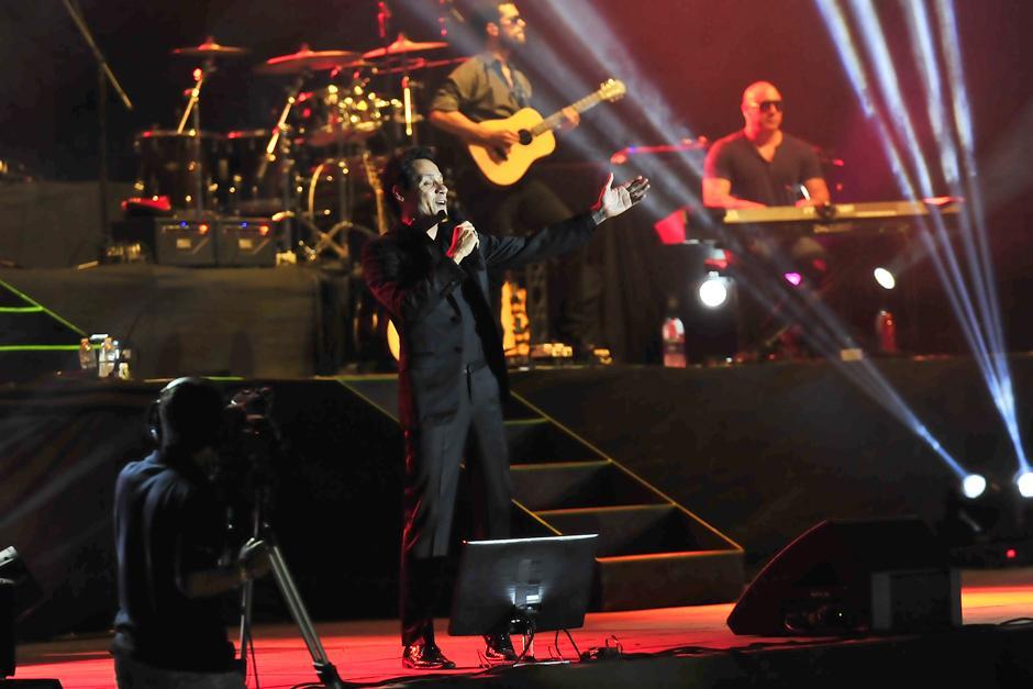 Marc Anthony es uno de los representantes más importantes de la salsa contemporánea. (Foto: Soy502)