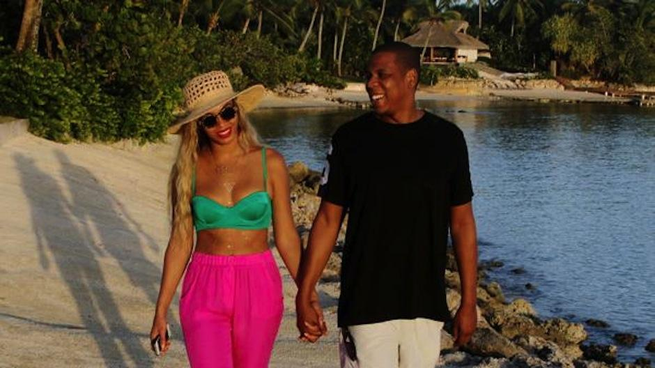 Beyoncé es otra de las estrellas que disfruta de estas plaayas. (Foto: Infobae)