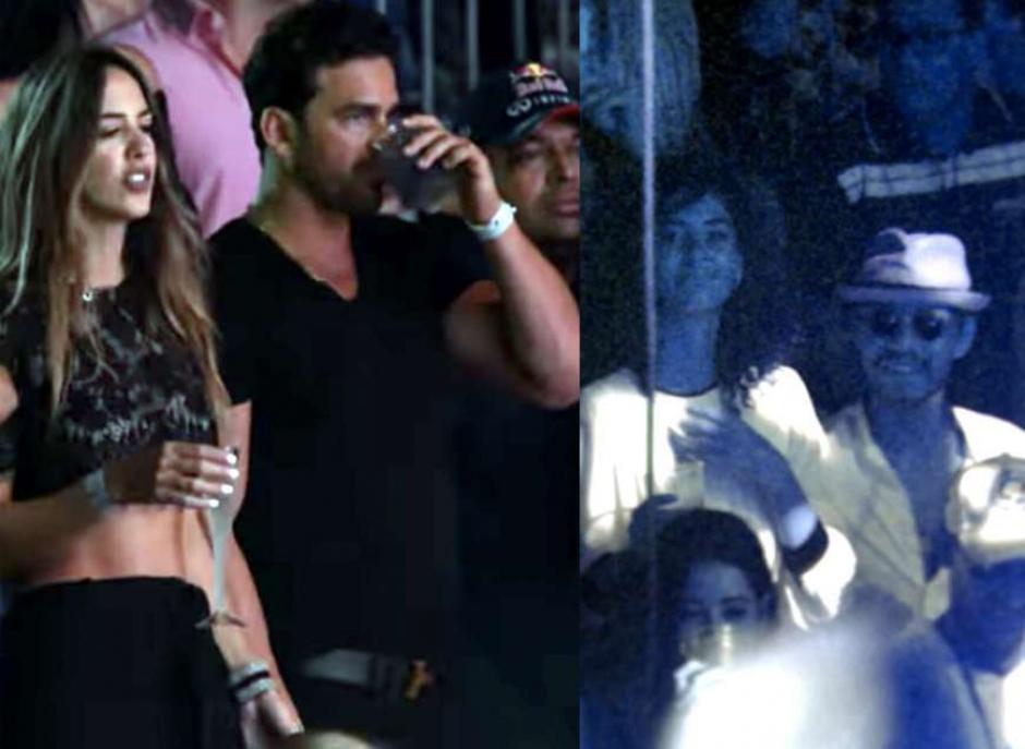 Shannon de Lima y Marc Anthony se pasean con nuevos amores. (Foto: El Diario)