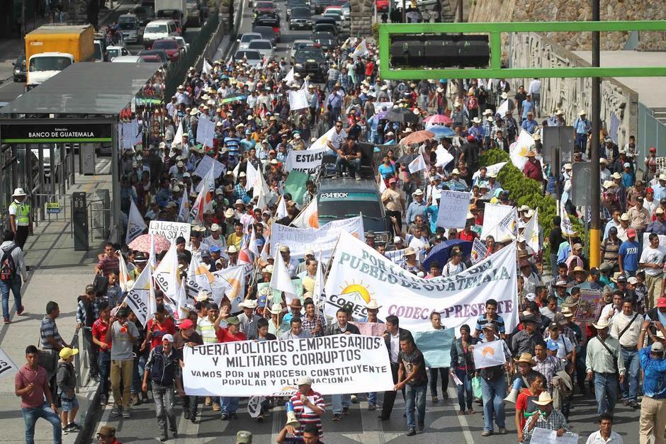 El Codeca saldrá a manifestar este martes. (Foto: Archivo/Soy502)