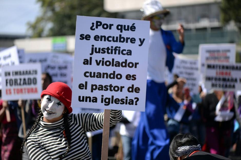 Las mujeres solicitaron respeto a la vida. (Foto: Wilder López/ Soy502)