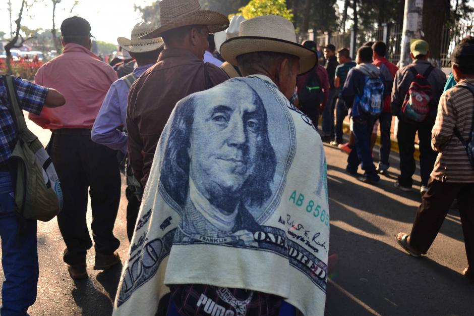 Los manifestantes se reunieron desde temprano este viernes. (Foto: Jesús Alfonso/Soy502)