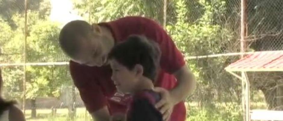 Javier Mascherano  niño méxico emoción foto