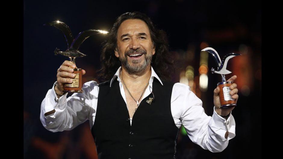 Marco Antonio Solís terminó su participación con dos gaviotas en el Festival Viña del Mar. (Foto: trome.pe)