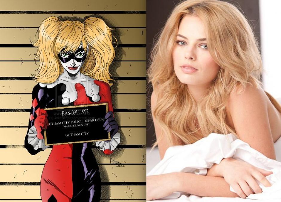 Margot Robbie trabaja en su interpretación de Harley Quinn
