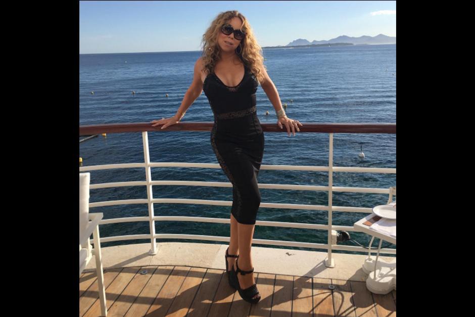 Mariah Carey siempre ha lucido un cuerpo envidiable, (Foto: Instagram)