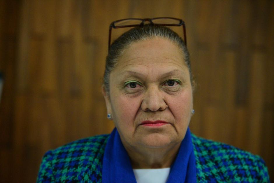 María Consuelo Porras Argueta también ha buscado ocupar el cargo de Fiscal General del MP. (Foto Wilder López/Soy502)