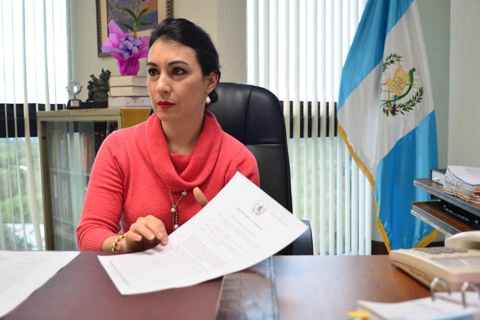 La abogada María Cristina Fernández García fue inscrita para magistrada suplente de la CC. (Foto: Archivo/Soy502)