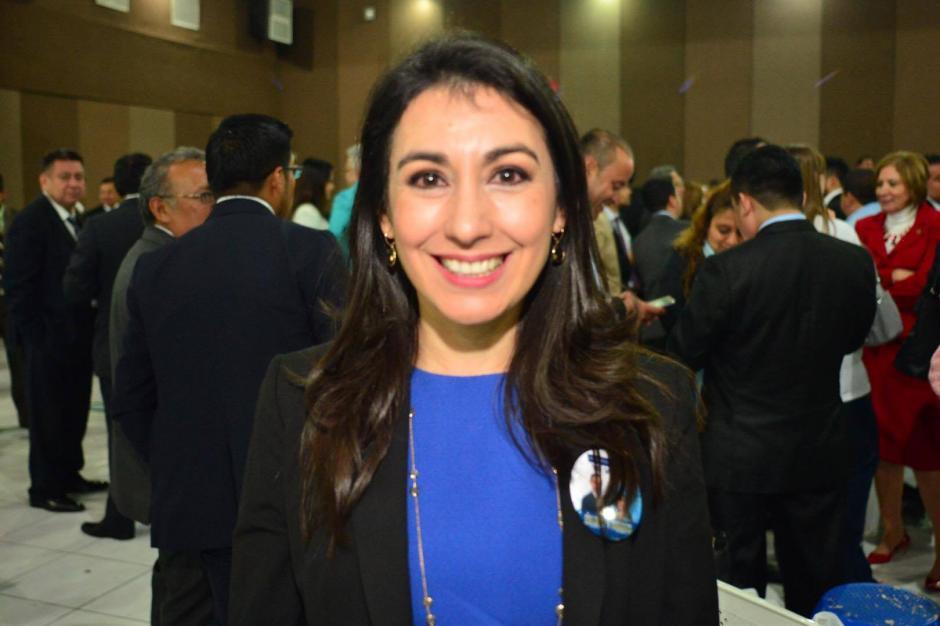 María Cristina Fernández disputará una segunda vuelta para la magistratura suplente ante la CC. (Foto: Jesús Alfonso/Soy502)