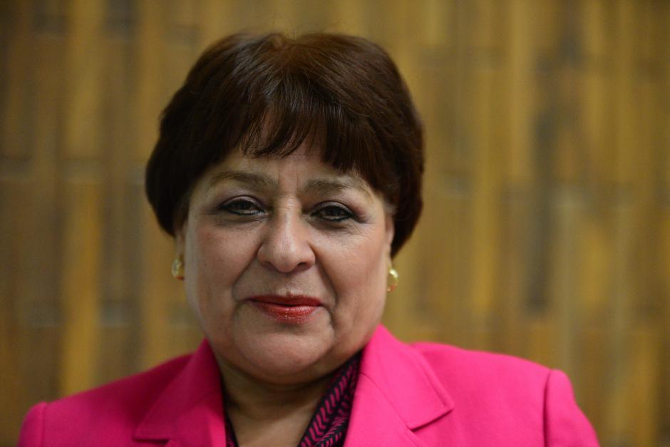 María Eugenia Castellanos Cruz de Delgado integra junto a Yoc, el Tribunal de Mayor Riesgo B. (Foto Wilder López/Soy502)