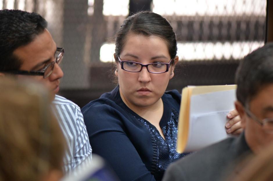 María Solórzano reconoció que nunca se presentó a trabajar al Congreso. (Foto: Wilder López/Soy502)