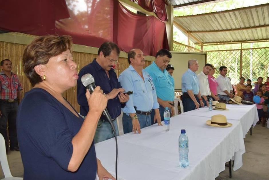La exasistente de Rabbé participó con el exdiputado en la campaña política. (Foto: Soy502)