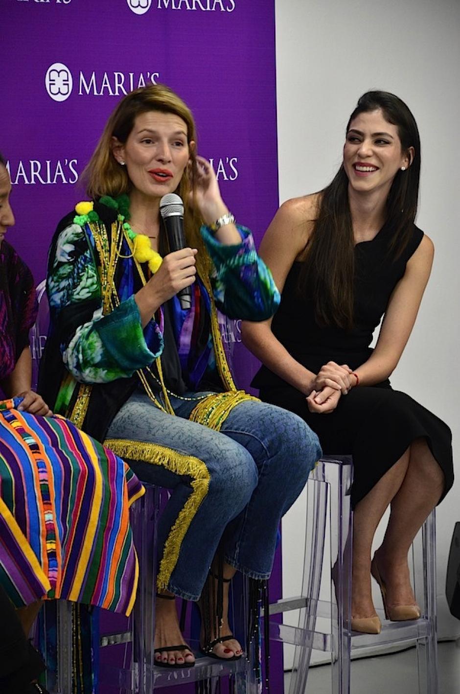 Sara Galindo comparte la importancia de difundir nuestro legado. (Foto: Selene Mejía/Soy502)