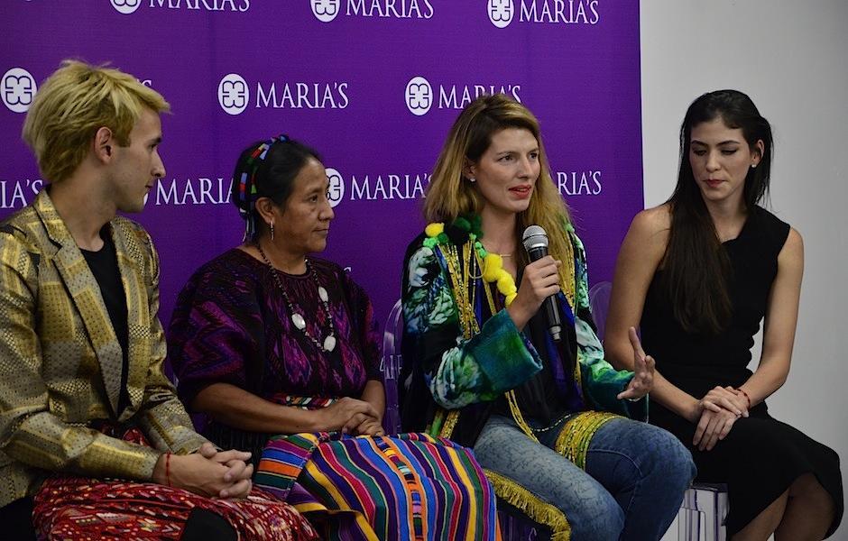 La periodista y productora de moda mexicana Sara Galindo fue invitada especial. (Foto: Selene Mejía/Soy502)