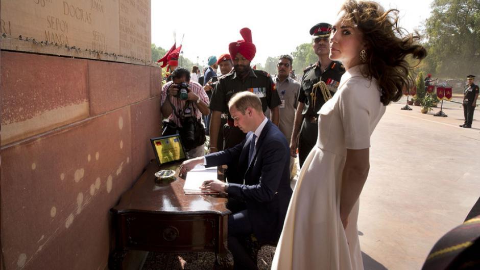 La visita de los duques de Cambridge, Kate Middleton y Guillermo de Inglaterra dejó varias anécdotas. (Foto: AFP)