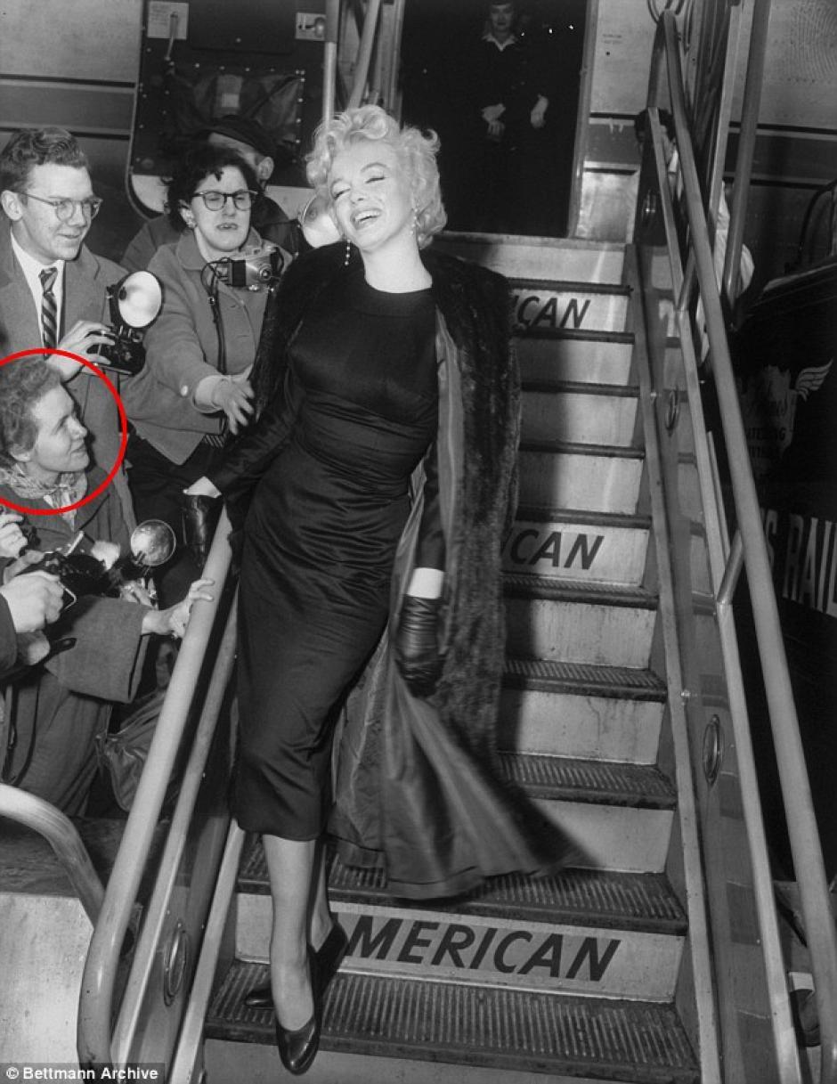 Las fotografías las tuvo la administradora de la actriz, Frieda Hull. (Foto: Daily Mail)