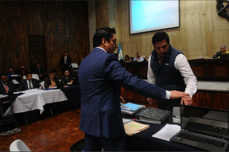 Mario Cano habló sobre los señalamientos del Ministerio Público. (Foto: Alejandro Balan/Soy502)