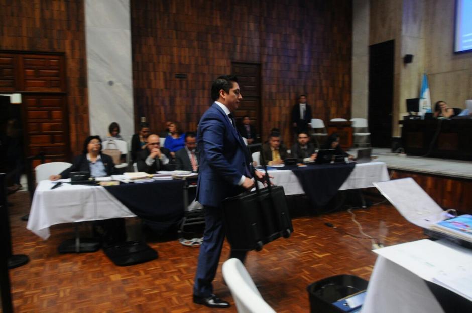 Cano dijo que le fue mejor como abogado que como empresario. (Foto: Alejandro Balan/Soy502)