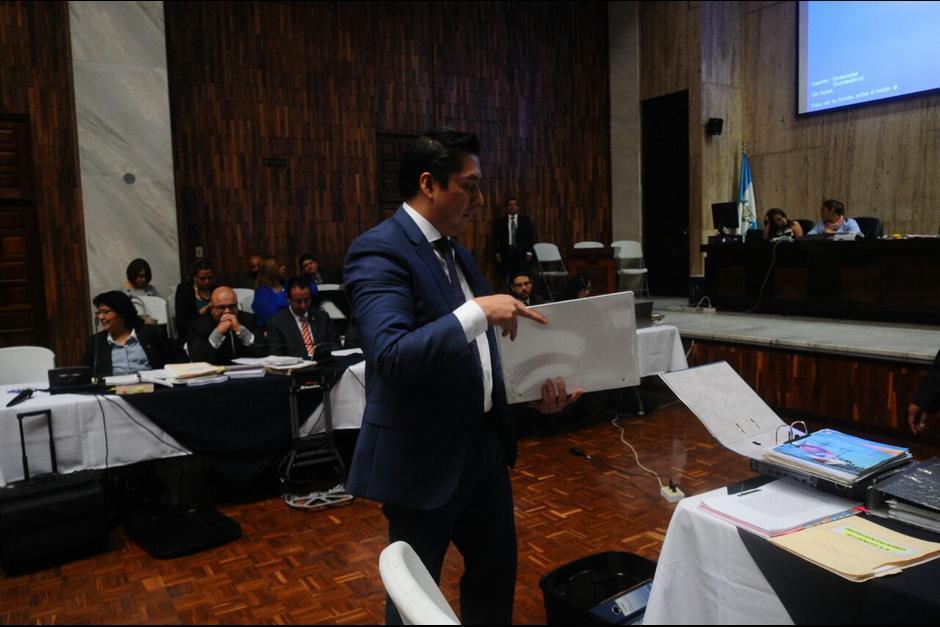Mario Cano, exabogado de Baldetti, también está señalado pues él recibió como pago un inmueble que fue comprado con dinero ilícito. (Foto: Archivo/Soy502)