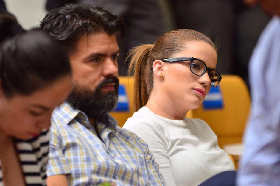 Daniela Beltranena también tuvo un perfil bajo. (Foto: Jesús Alfonso/Soy502)