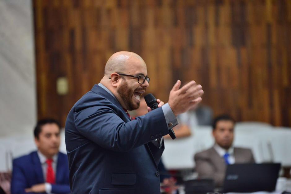 Alberto Guevara es el abogado de Mario Cano. (Foto: Jesús Alfonso/Soy502)