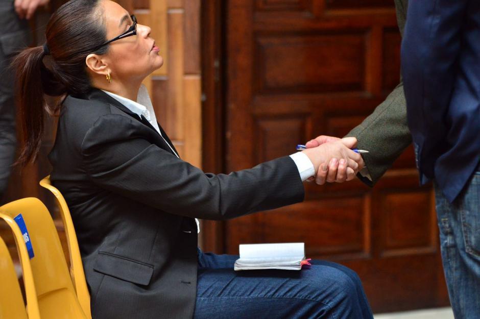 Roxana Baldetti se ha molestado con su exabogado Mario Cano. (Foto: Jesús Alfonso/Soy502)