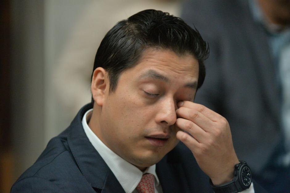 Este miércoles el MP presentó la imputación contra Mario Cano. (Foto: Wilder López/Soy502)